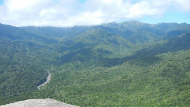 太鼓岩からの景色【屋久島 白谷雲水狭】