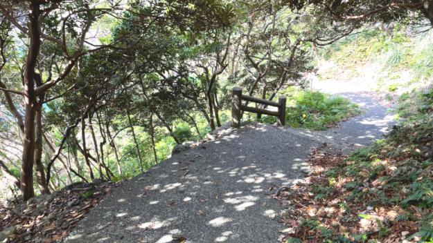 パワースポット矢筈嶽神社への道