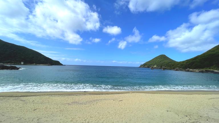 屋久島の海 一湊海水浴場